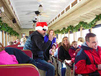 Make A Wish Foundation and KBER 101, where we went up with a bunch of Kids to ride the Polar Express  from  Heber, UT to the North Pole.