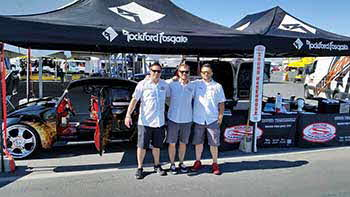 Miller Motorsports Park for the Moto AmericaSuperbikes racing out in Tooele with Rockford and Kenwood!