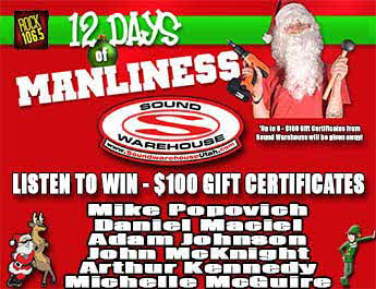 12 Days Of Manliness Winners