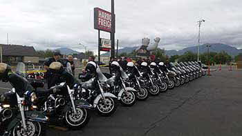 Sunday May 15th at Wrights Motorcycle parts for the Shriners Ride we did with KBER!