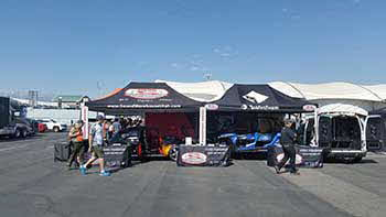 Utah Motorsports Campus in Grantsville, UT. The Pirelli World Challenge. We did this event with Rockford, Kenwood, Hertz and Pioneer.