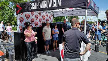 Ultimate Father�s day Giveaway with Arrow 103.5 out at Sportsman�s Warehouse. Congrats to Lolita A. for winning the grand prize including the $1500.00 gift certificate to SW