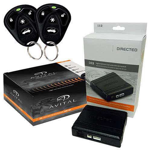 AVITAL Remote Start System with/ DB3 Bypass Module