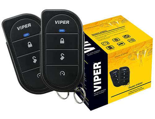 VIPER 1-way car security and remote start system