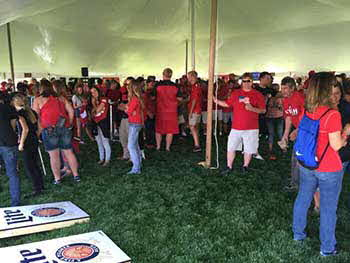 Utah Utes tailgate we did with 1280 the Zone. Miller Lite, Kenwood, Pioneer and Rockford Fosgate this last Saturday During the BYU vs Utah