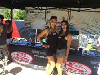 With Rockford Fosgate at the Supra Pro Wakeboard Tour at Mantua Reservoir June 24th