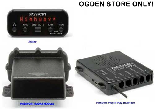 ESCORT PASSPORT Radar/Laser Integrated Detector System
