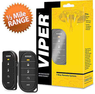 VIPER 1-way remote control with 1/2-mile range for Directed remote start systems