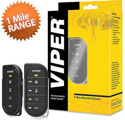 VIPER 2-way remote control with 1-mile range for Directed remote start systems