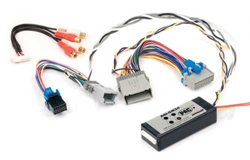 PAC DUAL AUXILIARY INPUT INTERFACE FOR SELECT GM VEHICLES