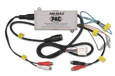 PAC DUAL AUXILIARY INPUT INTERFACE FOR SELECT MAZDA VEHICLES
