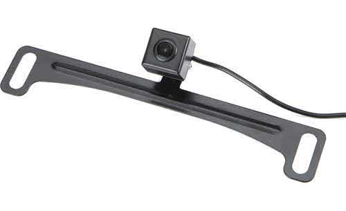 VOXX Plate-mount rear-view camera with active parking lines