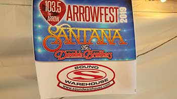 Arrowfest 2019  featuring the Doobie Brothers and Santana