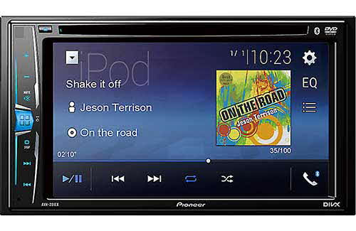 "PIONEER Multimedia DVD Receiver with 6.2"" WVGA Display, Built-in Bluetooth� and Remote Control Included"