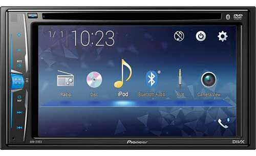"PIONEER Multimedia DVD-Receiver with 6.2"" WVGA Display, Built-in Bluetooth� and Remote Control Included"