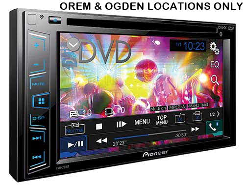 "PIONEER Multimedia Receiver with 6.2"" WVGA Display, and Built-in Bluetooth�"