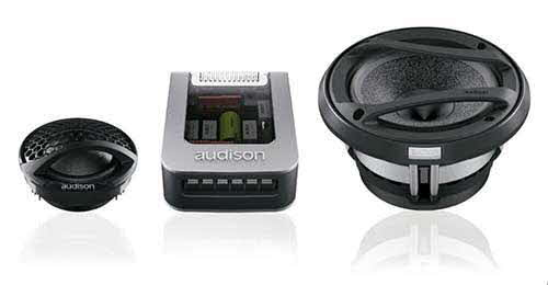 audison voce 2-Way System with 200 Watts Maximum Power