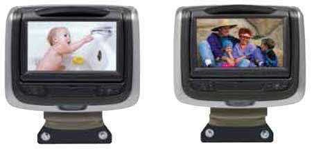 AUDIOVOX Custom Headrest Monitors - Dual DVD Monitor System with Dual HDMI/MHL
