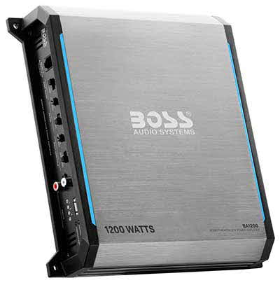 BOSS AUDIO Elite 1200W Monoblock, Class A/B Amplifier