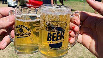 City Weekly's  Beerfest Last Saturday and Sunday the 17th and 18th at the fair grounds.