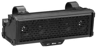 "Boss Audio 300 WATTS MAX POWER | 14"" AMPLIFIED SOUND BAR Featuring Built-in Class D Amplifier, External BLUETOOTH� Controller and Built-in Dome Light"