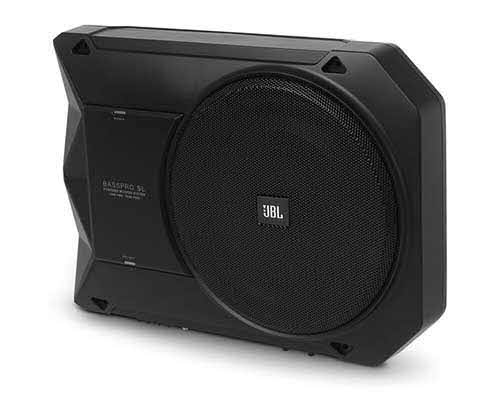 "JBL AUDIO Powered, 8"" (200mm) car audio under seat woofer system"