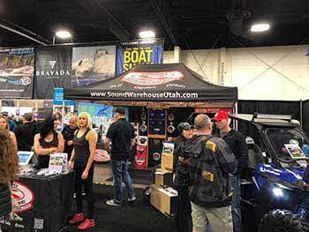 Sound Warehouse at the 2018 Boat Show