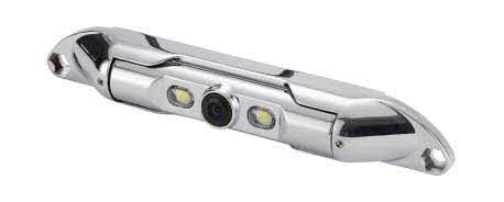 "ECHOMASTER 1/4"" CMOS Bar Type License Plate Camera with Chrome Metal Finish"