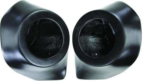 "SSV Works Can-Am Commander 6 1/2"" Rear Speaker Pods - Unloaded"