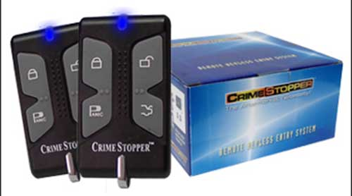 CRIME STOPPER Remote Keyless Entry System with Improved Software