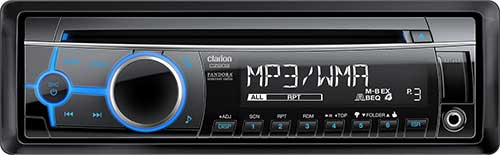 CLARION CD/USB/MP3/WMA RECEIVER