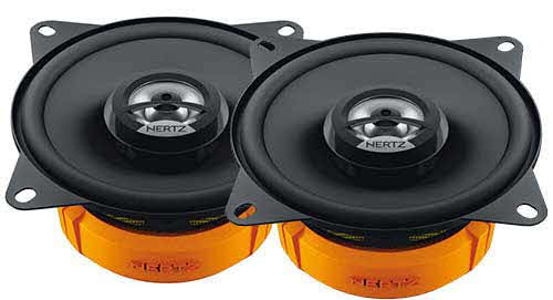 "HERTZ 4"" 2-Way Coaxil Speaker with 60 Watts Maximum Power"