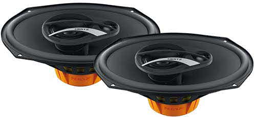 HERTZ 6x9� 3-Way Coaxil Speaker with 180 Watts Maximum Power