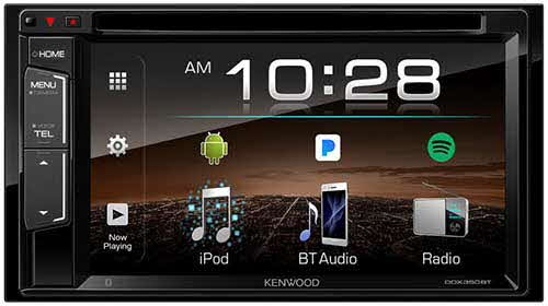 Kenwood 2-Din Multimedia Receiver with Bluetooth