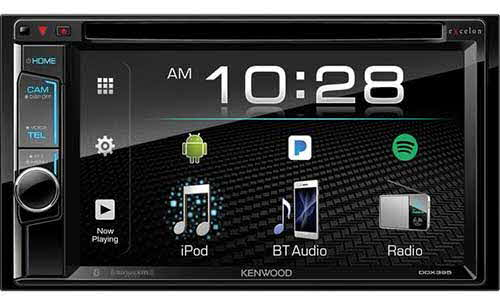 Kenwood 6.2� 2-Din Monitor Receiver with Bluetooth