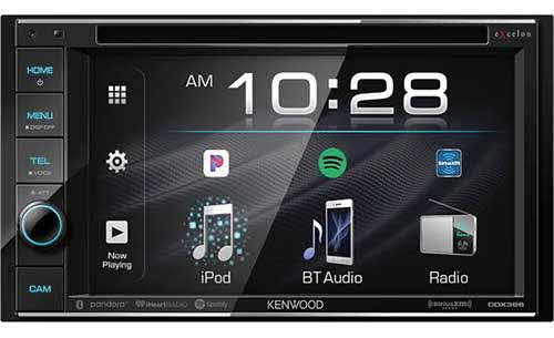 Kenwood excelon 6.2� DVD Receiver with Bluetooth