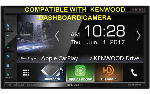 Kenwood excelon 6.8� 2-Din Monitor Receiver with Bluetooth &