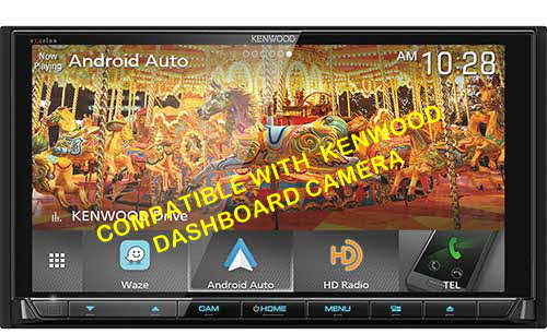 "Kenwood eXcelon Double DIN Wireless Android Auto and Apple CarPlay DVD/CD/AM/FM Car Stereo w/ 6.75"" Touchscreen"