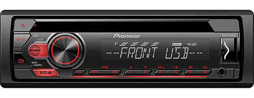 PIONEER CD Receiver with Pioneer ARC App and USB Control for Certain Android� Phones