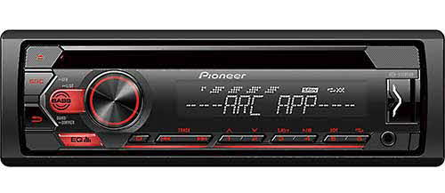 PIONEER CD Receiver with Pioneer ARC App and USB Control for Certain Android Phones