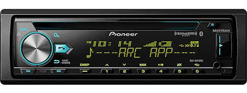 PIONEER CD Receiver with Enhanced Audio Functions, Improved Pioneer ARC App Compatibility, MIXTRAX�, Built-in Bluetooth�, and SiriusXM-Ready�