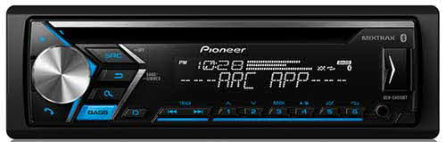 PIONEER - CD receiver features Pioneer's MIXTRAX technology, Pandora�, Spotify�, and built-in Bluetooth�