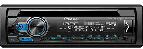 PIONEER - CD Receiver with Improved Pioneer Smart Sync App Compatibility, MIXTRAX�, Built-in Bluetooth�