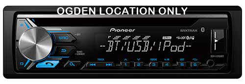 Pioneer CD Receiver with ARC App Compatibility, MIXTRAX� and Built-in Bluetooth�