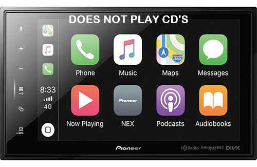 PIONEER NEX Modular 8'' Capacitive Multimedia Receiver with Apple CarPlay�, Android Auto�, Built-in Bluetooth�, SiriusXM Ready�, iDataLink� Maestro�, and Remote Control Included