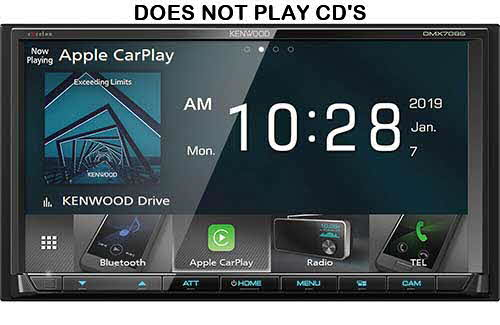 In-Dash Video Receivers by Kenwood, Clarion, Pioneer and JVC