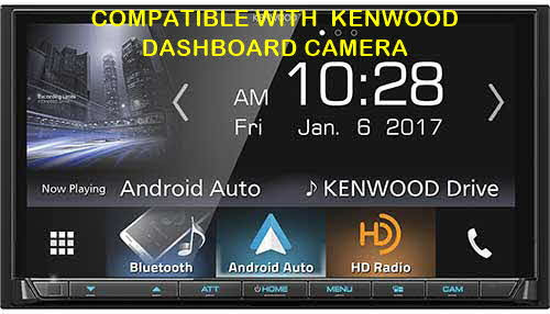 "Kenwood 6.95"" In Dash Double Din Monitor Receiver with Built in Bluetooth & HD Radio"