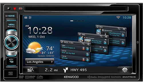 KENWOOD Double DIN Connected Wi-Fi Navigation DVD Receiver