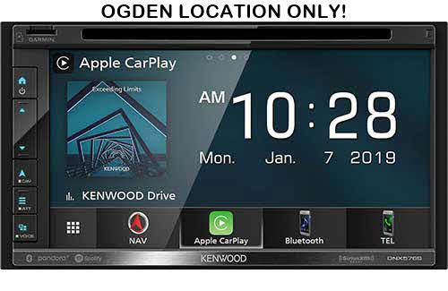 Kenwood Navigation DVD Receiver with Bluetooth