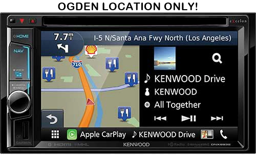 "KENWOOD eXelon In-Dash 6.2"" HD Navigation System with  Bluetooth and HD Radio"